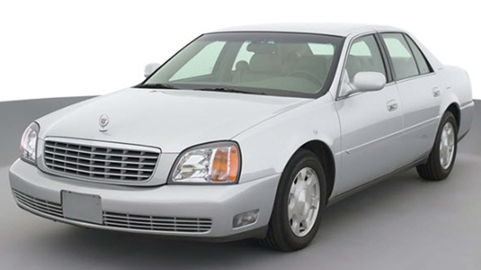 A 2001 Cadillac DeVille is pictured in this handout photo. (Handout /Durham police)