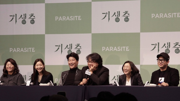 Cast of Parasite