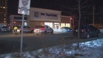 York Regional Police say four people were injured during an armed bank robbery in Markham on Wednesday, Feb. 19, 2020.