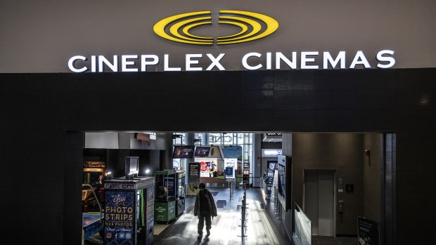"A Cineplex theatre in Toronto is seen on Monday, December 16, 2019. Independent cinemas across Canada say they are being kept from screening top films like ""Parasite"" and ""Hustlers"" as they're released and they claim theatre giant Cineplex Inc. is to blame. THE CANADIAN PRESS/Aaron Vincent Elkaim"