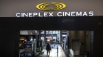 A Cineplex theatre in Toronto is seen on Monday, December 16, 2019. THE CANADIAN PRESS/Aaron Vincent Elkaim