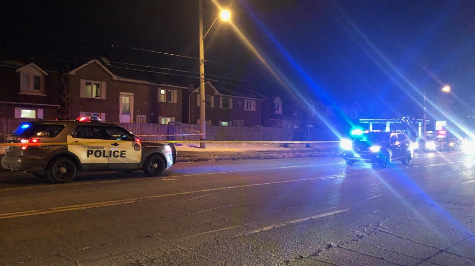 The homicide unit is investigating after a person was pronounced dead in Scarborough on Friday, Feb. 21, 2020.