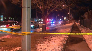 Toronto police homicide unit is investigating the death of a woman in Scarborough on Friday, Feb. 21, 2020.