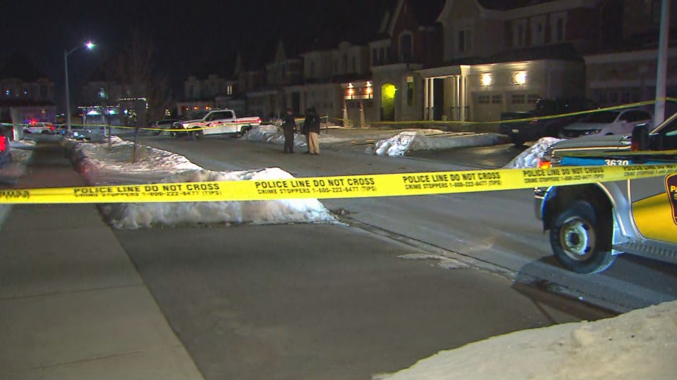 York Regional Police are investigating a shooting in Aurora that sent one person to hospital on Friday, Feb. 21, 2020.