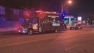 Toronto police are investigating the death of an individual who was found with a suffering from a gunshot wound in Scarborough on Friday, Feb. 21, 2020