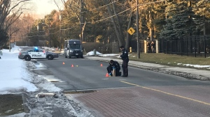 No one was injured after a shooting in the area of Lawrence Avenue East and The Bridle Path on Saturday, Feb. 22, 2020.