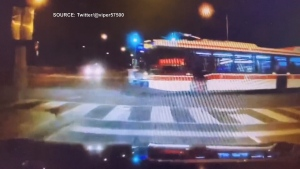 TTC investigating after video appears to show bus running red light