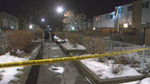 Toronto police are investigating a shooting in the area of Morecambe Gate and Chester Le on Sunday, Feb. 23, 2020