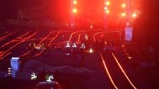 Hamilton rail blockade