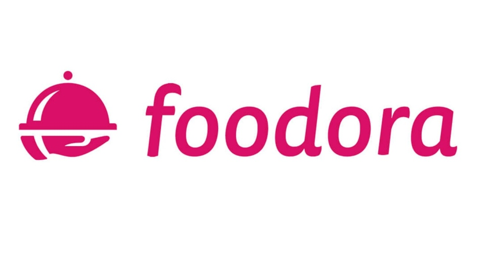 The Foodora logo is seen in this undated handout photo. THE CANADIAN PRESS/HO, foodora