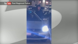 Peel police are asking for the public's help in identifying a suspect accused of making racist comments in Mississauga in January.