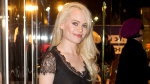 """This Dec. 8, 2011 file photo shows Welsh singer Duffy at the European premiere of """"Sherlock Holmes: A Game of Shadows"""" in London. (AP Photo/Joel Ryan, File)"""