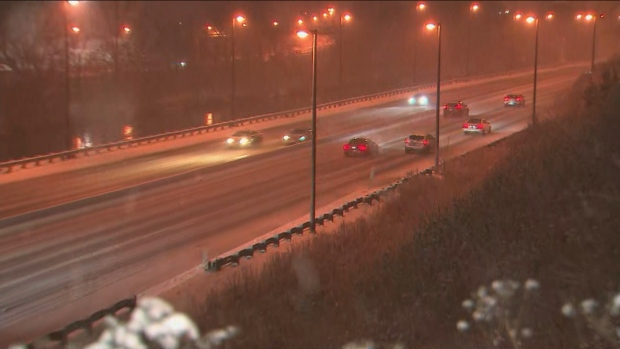 It could be a messy morning commute on Thursday as snow continues to fall.