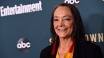 "Tantoo Cardinal, a cast member in the new ABC television series ""Stumptown,"" poses at the premiere of the show at the Petersen Automotive Museum, Monday, Sept. 16, 2019, in Los Angeles. THE CANADIAN PRESS/AP, Chris Pizzello/Invision"