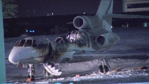 Police are investigating a suspicious fire that destroyed a plane at Buttonville Municipal Airport.
