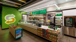 This January 2017 photo provided by Subway shows the interior of a remodeled Subway store in Knoxville, Tenn. THE CANADIAN PRESS/AP-Chris Radcliffe/Subway via AP