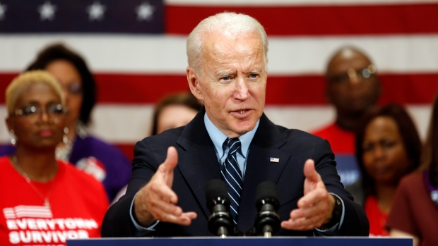 Joe Biden hopes to cement lead in crucial Democratic primaries