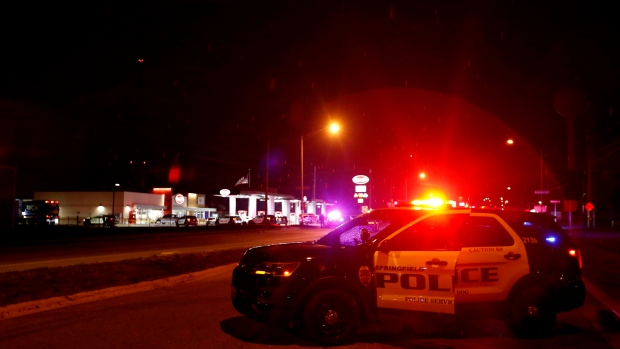 Five dead, including officer and gunman, in Missouri shooting