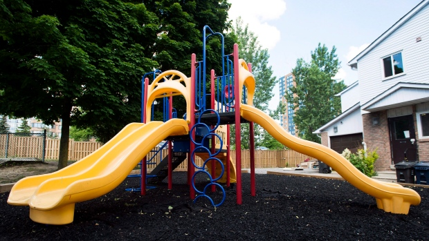 A playgrounds is seen in this file photo. (Nathan Denette/The Canadian Press)