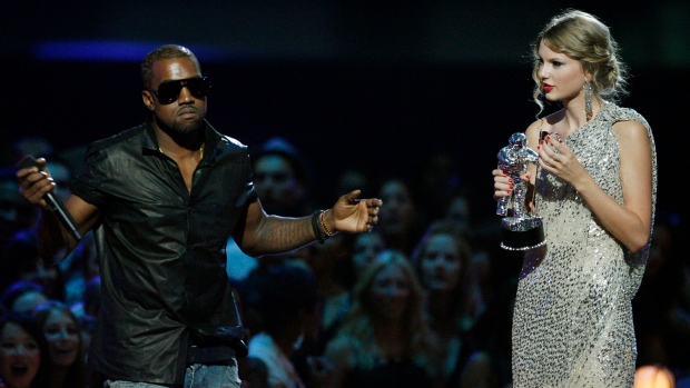 Taylor and Kanye
