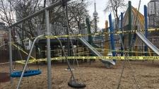 playground, COVID-19, closure