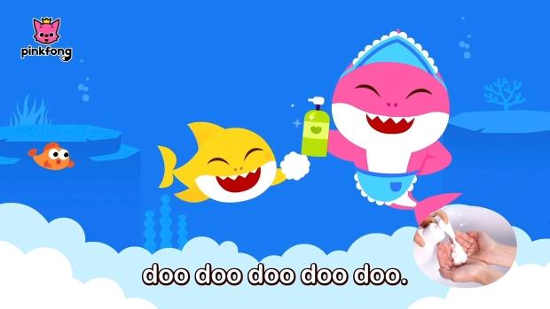 COVID-19 baby shark song