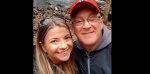 Kelly Marshall, left, and her father Rick Cameron pose for a selfie at a waterfall in Nova Scotia in an undated handout photo. The daughter of a Nova Scotia man relying on a ventilator for breath wants Canadians to recall COVID-19 can deny loved ones the ability to hold one another in their time of deepest need.THE CANADIAN PRESS/HO-Kelly Marshall,