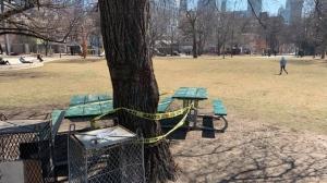 Parks closed