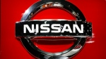 In this Jan. 14, 2019, file photo, a Nissan logo is shown at the North American International Auto Show in Detroit. (AP Photo/Paul Sancya, File)