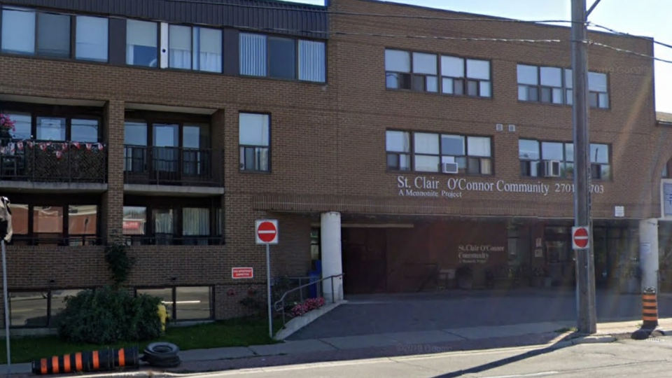 St. Clair O'Connor Community in East York is shown in an undated Google Streetview image.