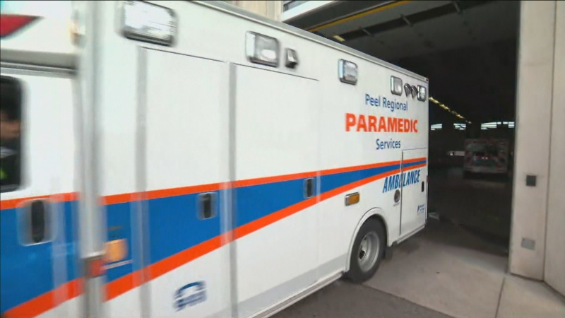 A Peel paramedic has tested positive for COVID-19.