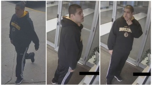 Police are looking for the man who allegedly sexually assaulted a woman in a residential building's elevator Sunday. (Toronto Police Service)