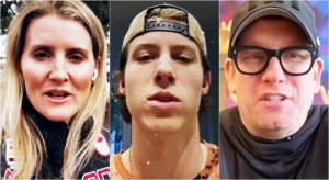 Hayley Wickenheiser, Mitch Marner and Nick Nurse are some of the stars who appeared in the video urging residents to stay home. (Supplied)