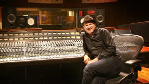 Music producer Chris McKhool sits in front of his soundboard in a handout photo. Chris McKhool still has many questions about how the federal government will support Canadian artists in the latest update to the COVID-19 emergency benefits program, but for now he's trying to stay focused on the music. THE CANADIAN PRESS/HO-Jake Roels MANDATORY CREDIT