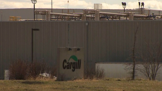 Cargill meat packing plant