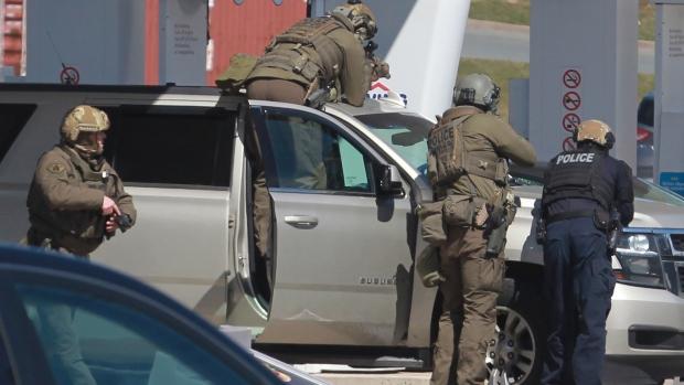 Nova Scotia mass killing began with attack on girlfriend