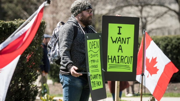 Ford Slams Bunch Of Yahoos Protesting Emergency Measures Outside Queen S Park Cp24 Com