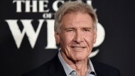 """In this Feb. 13, 2020 file photo, Harrison Ford attends the premiere of """"The Call of the Wild"""" in Los Angeles. (Photo by Richard Shotwell/Invision/AP)"""