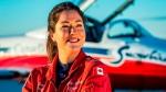 Capt. Jennifer Casey poses for a photo. (Royal Canadian Air Force via AP)