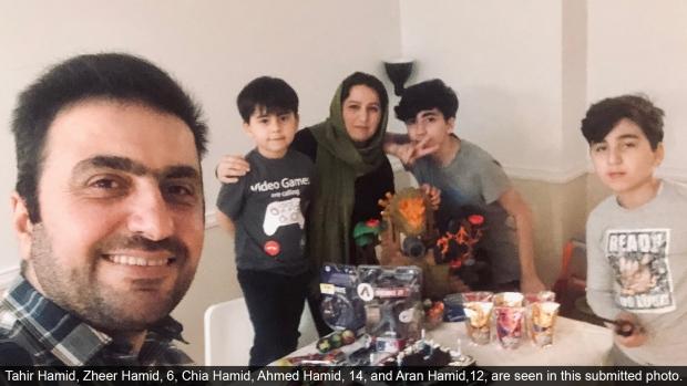 Hamid, family, Markham,