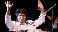 In this Aug. 19, 2004, file photo, Little Richard performs at Westbury Music Fair in Westbury, N.Y. (AP Photo/Ed Betz, File)