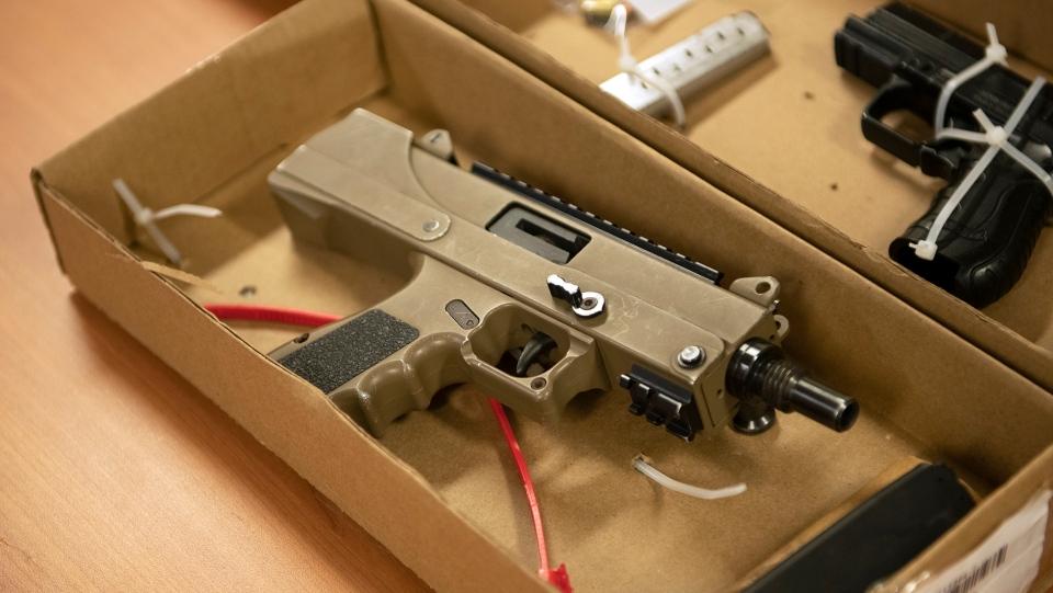 Gun seized by York Regional Police in Project Stanley.