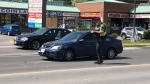 Toronto police are investigating a shooting in the area of Warden and Danforth. (Patrick Darrah)
