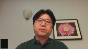 Young Lark Jin, a Library Service Manager at Toronto Public Library, is seen in this photo.