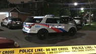 Toronto police are investigating after shots were fired near Danforth and Greenwood avenues. (Michael Nguyen/ CP24)