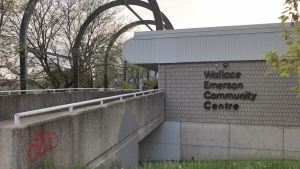A cooling centre will open today at the Wallace Emerson Community Centre (Craig Wadman/ CTV News Toronto)