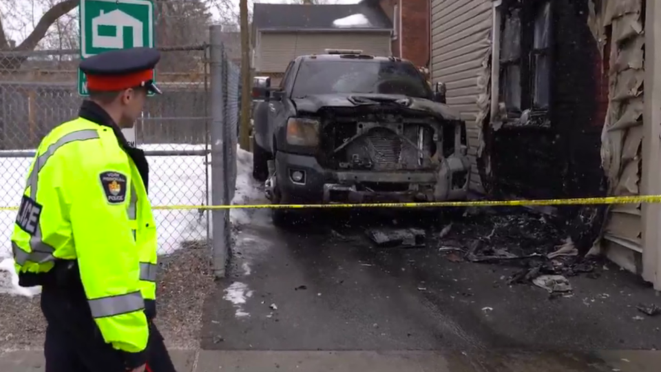 York Regional Police have arrested 20 people in connection with a tow truck turf war in the GTA. (York Regional Police/ Twitter)