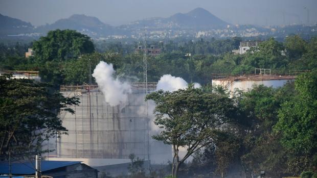 gas leak,