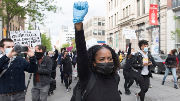 Montreal protest