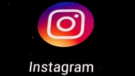 In this Nov. 29, 2018 file photo, the Instagram app logo is displayed on a mobile screen in Los Angeles. (AP Photo/Damian Dovarganes, File)